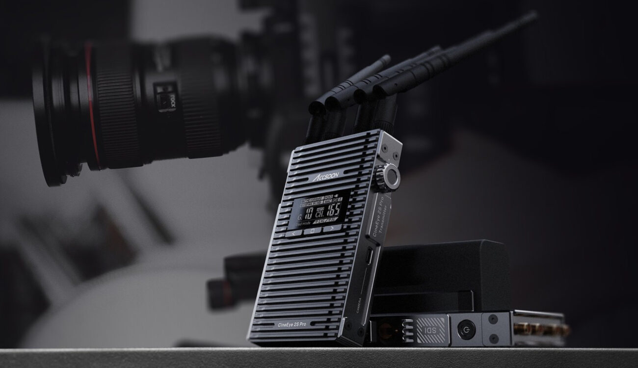 Anuncian el Accsoon CineEye 2S Pro: video inalámbrico de hasta 1200 pies a través de SDI o HDMI