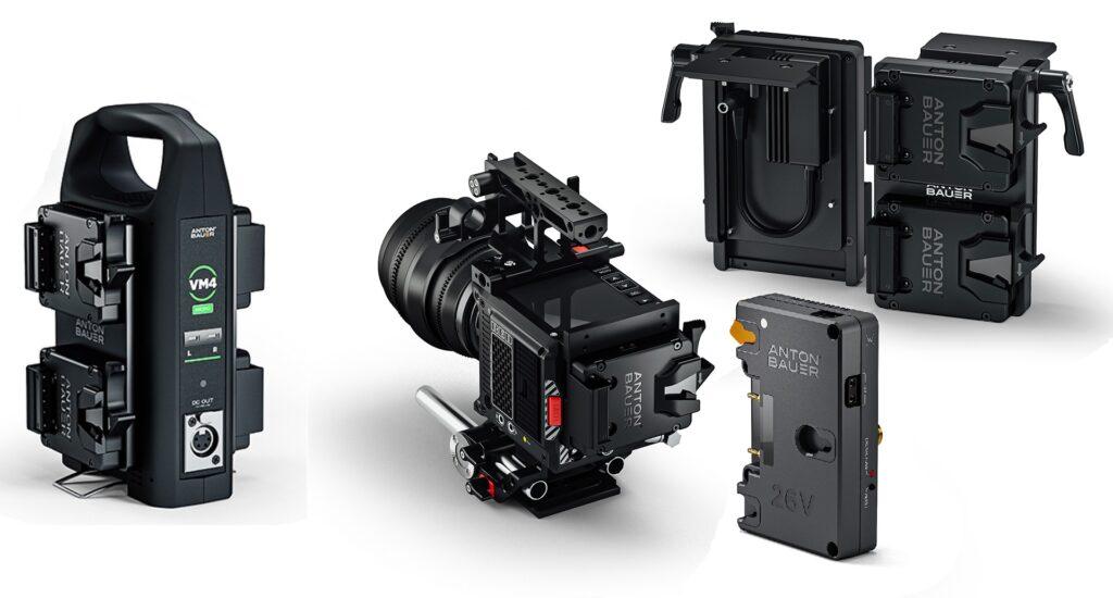 アントンバウアーが新しいバッテリーブラケット、充電器、コンバーターをリリース
