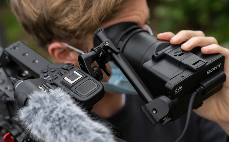 Pimp Your Sony FX6 with the FX9 Loupe Kit from CVP