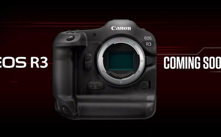 Canon EOS R3 Development and New RF Lenses Announced