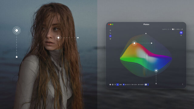 Color.io Photon - LUT Painter (Credits: LIT labs & Color.io)