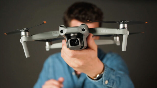 The new DJI Air 2S drone