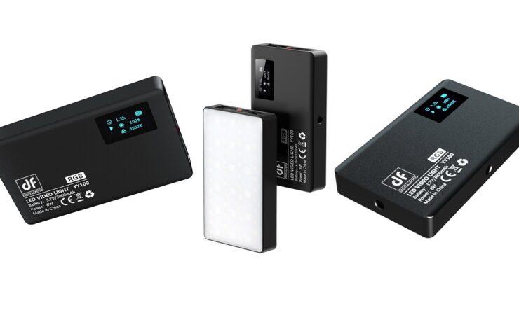 DigitalFoto YY100 - Compact Magnetic RGB Light Announced