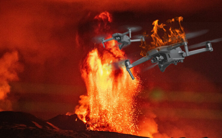 Hot Shots: Flying a Drone over an Erupting Volcano