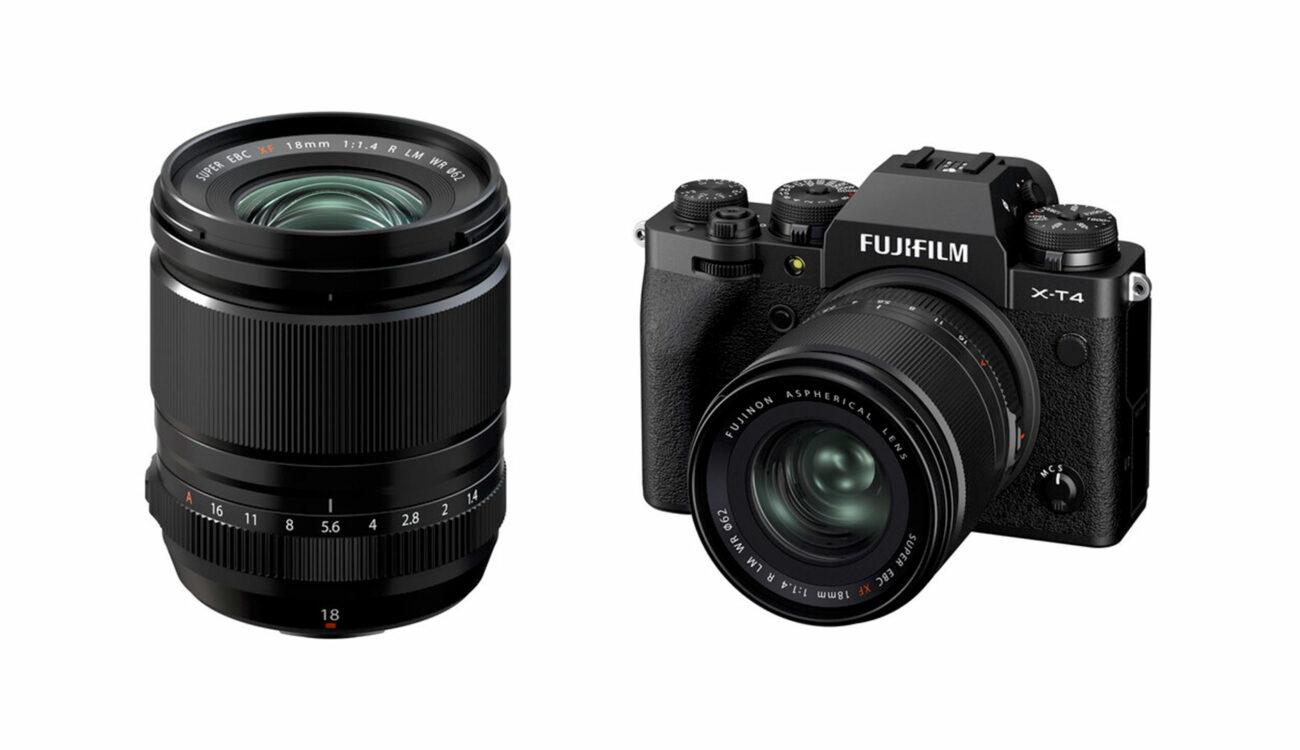 Anuncian el lente FUJIFILM XF 18mm F/1.4 R LM WR