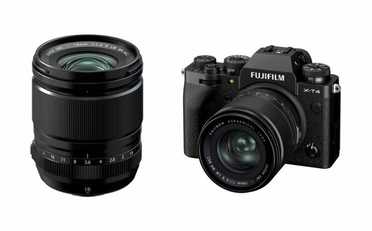 FUJIFILM XF 18mm F/1.4 R LM WR Lens Announced