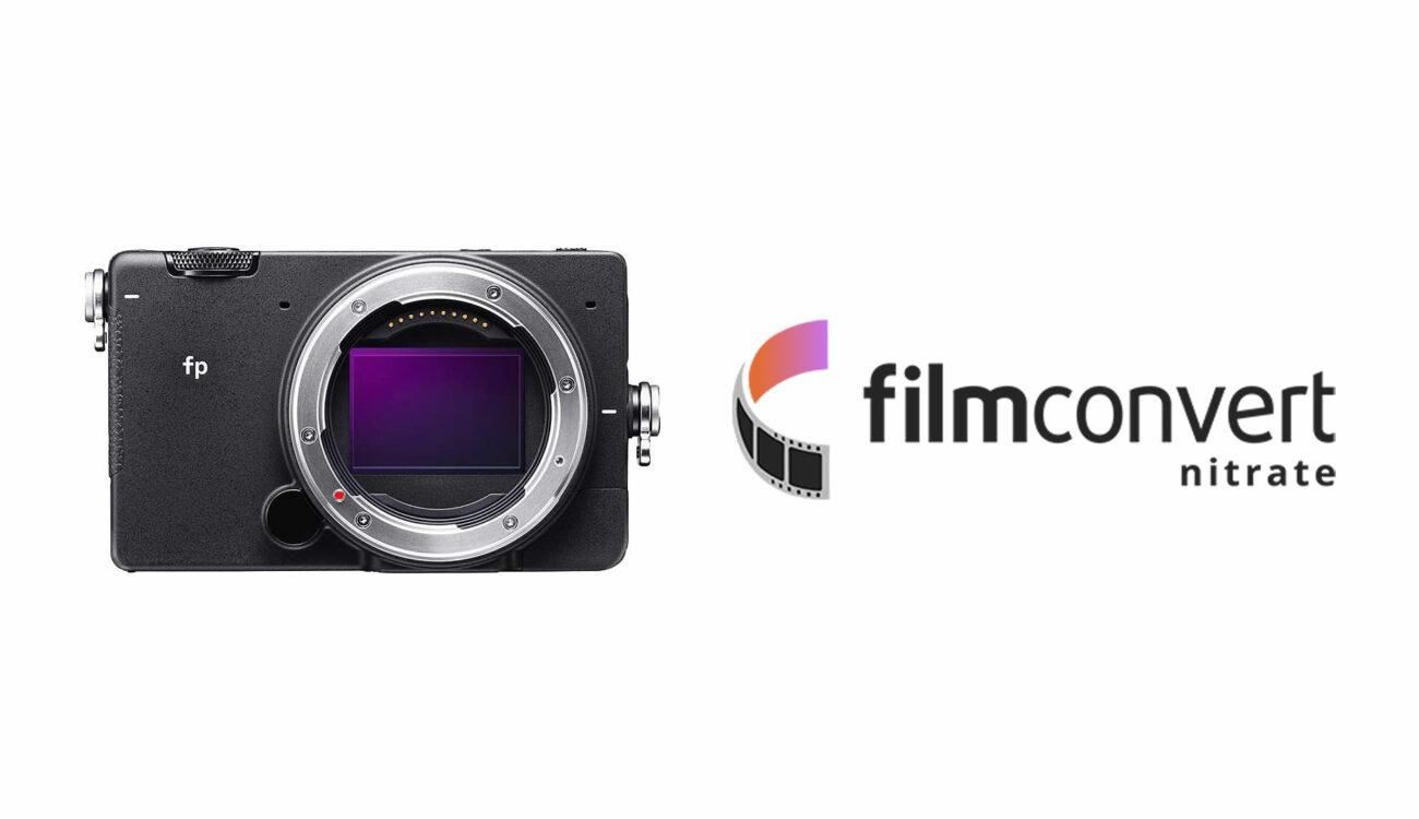 FilmConvertがシグマfp用のプロファイルをリリース