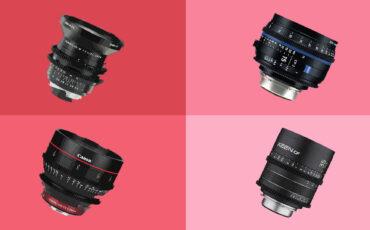 High-End Prime Lenses – Cine & Photographic