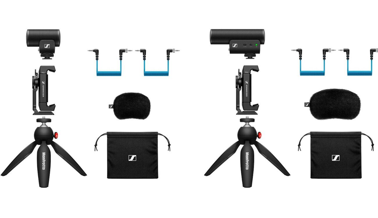 Sennheiser MKE 400 Mic, XS Lav Mic, and Mobile Kits Released