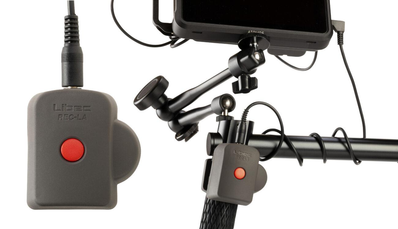 Libec REC-LA Remote Control for Atomos Recorders Released