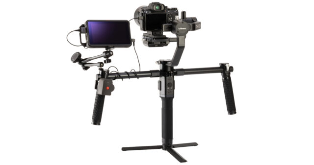 using the REC-LA on a gimbal