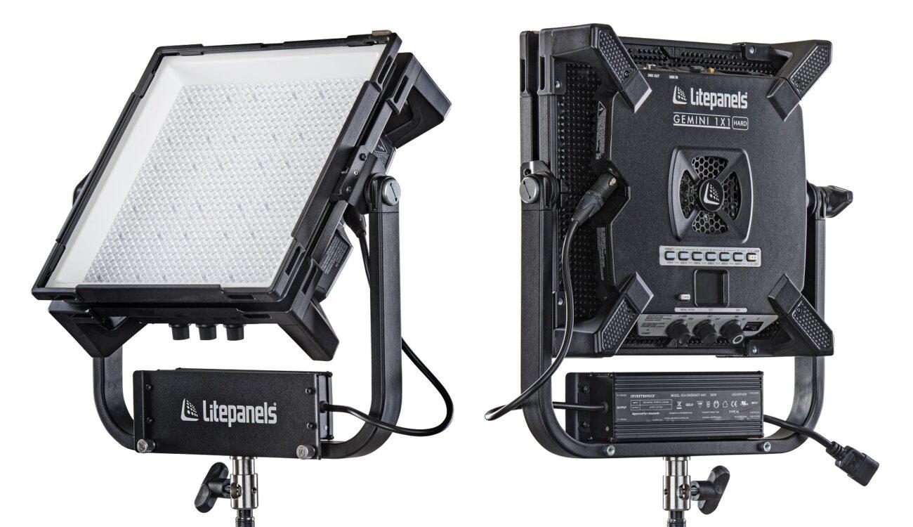 Anuncian el Litepanels Gemini 1×1 Hard - Nuevo panel LED RGBWW superbrillante