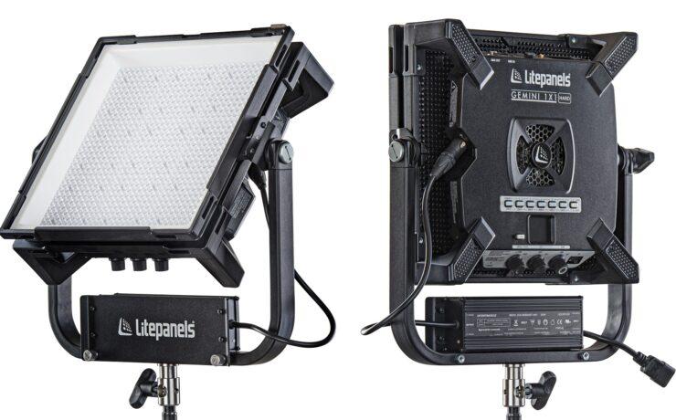 Litepanels Gemini 1x1 Hard Launched – New Super-Bright RGBWW LED Panel