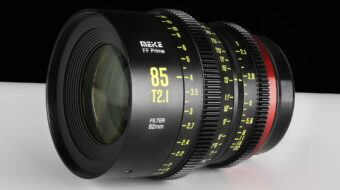 Anuncian el lente Prime de Cine Full-Frame Meike 85mm T2.1