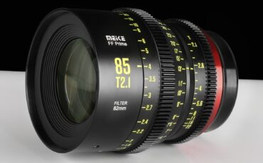 Meike 85mm T2.1 Full-Frame Cinema Prime Lens Announced