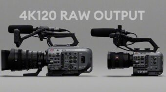 Sony FX9 & FX6 Firmware Updates Announcement – 4K120 RAW Output, Anamorphic De-squeeze & More