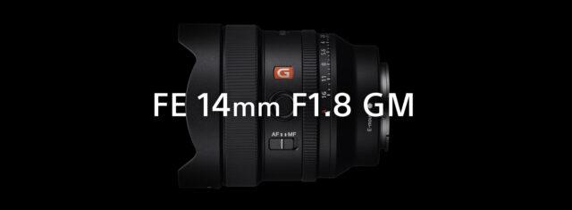 Sony FE 14mm f/1.8 G Master