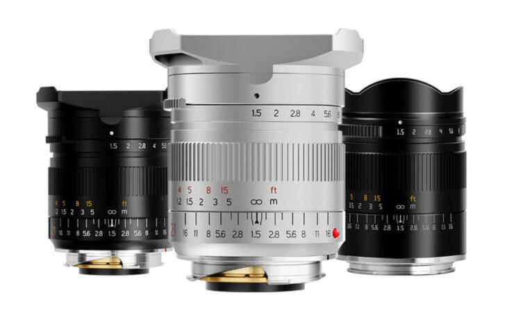 TTArtisan 21mm F/1.5 ASPH for Mirrorless Cameras Announced