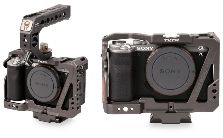 Tilta Camera Cage for Sony a7C Released