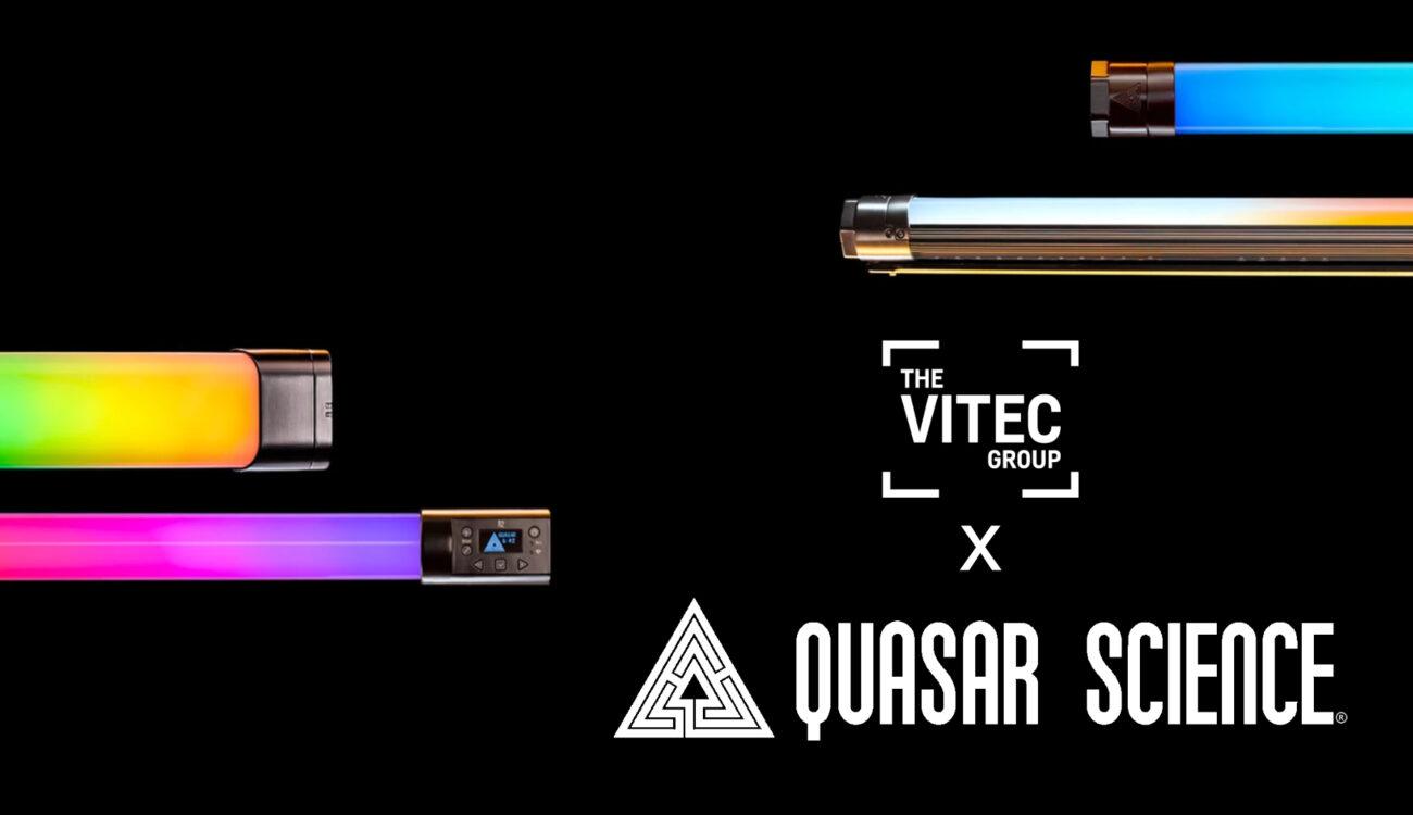 The Vitec Group Acquires Lighting Manufacturer Quasar Science