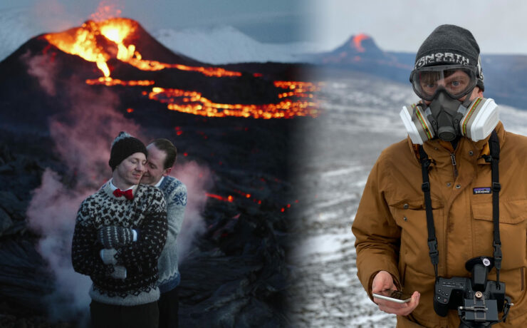 Shooting a Wedding by an Active Volcano - Interview with Martin Kacvinsky