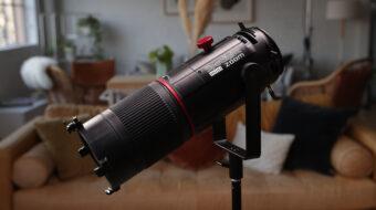 Aputure Spotlight Mini Zoom Accessory First Look