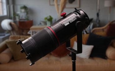 Primer vistazo del nuevo accesorio Aputure Spotlight Mini Zoom