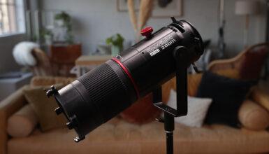 Aputure Spotlight Mini Zoom アクセサリーレビュー