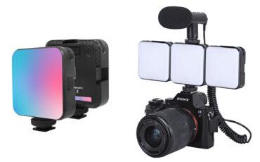 DigitalFoto anuncia la luz W64RGB - Mini luz RGB magnética