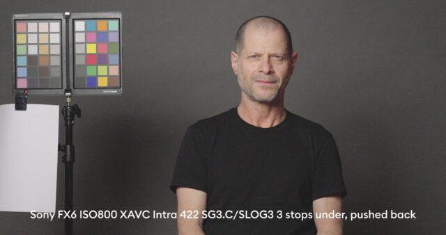 3 stops below base exposure, XAVC Intra