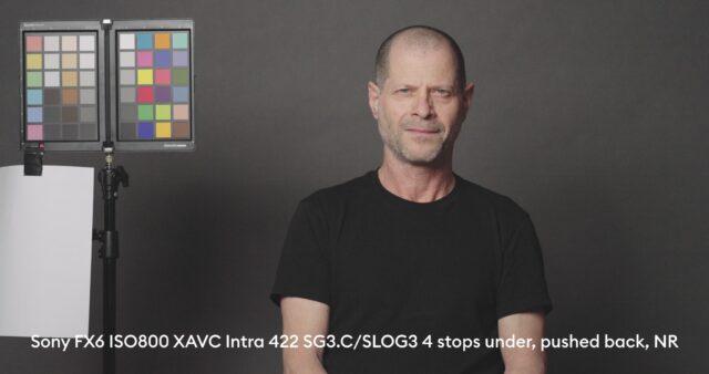 4 stops below base exposure, XAVC - I