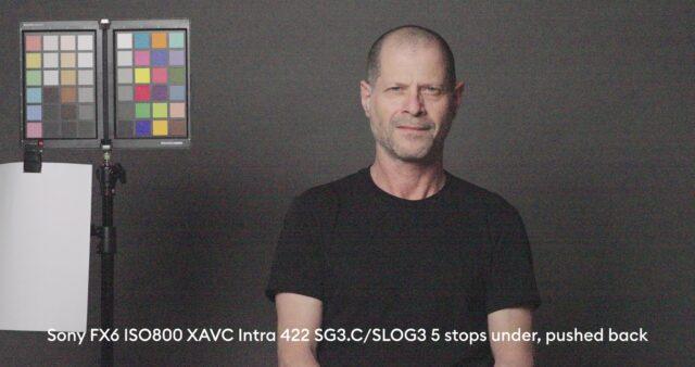 5 stops below base exposure, XAVC-I