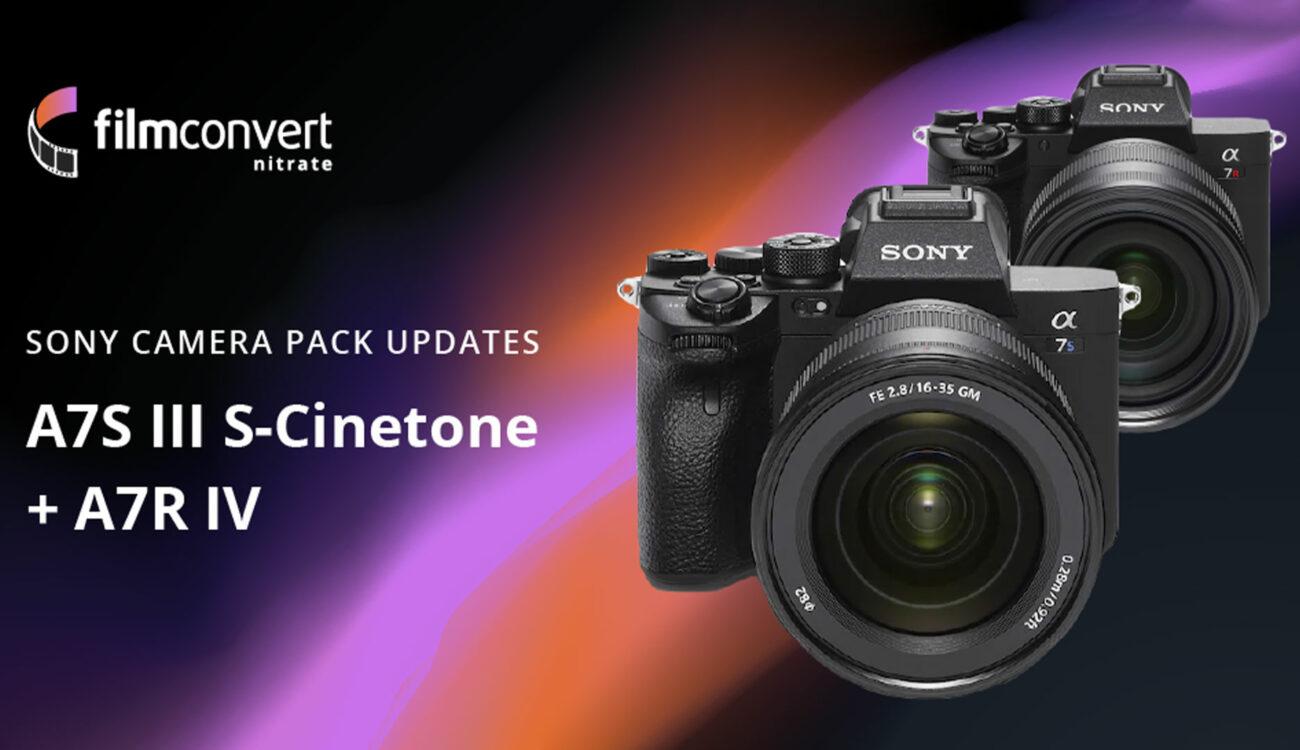 Lanzan el perfil FilmConvert para la Sony a7R IV y el perfil S-Cinetone para la a7S III