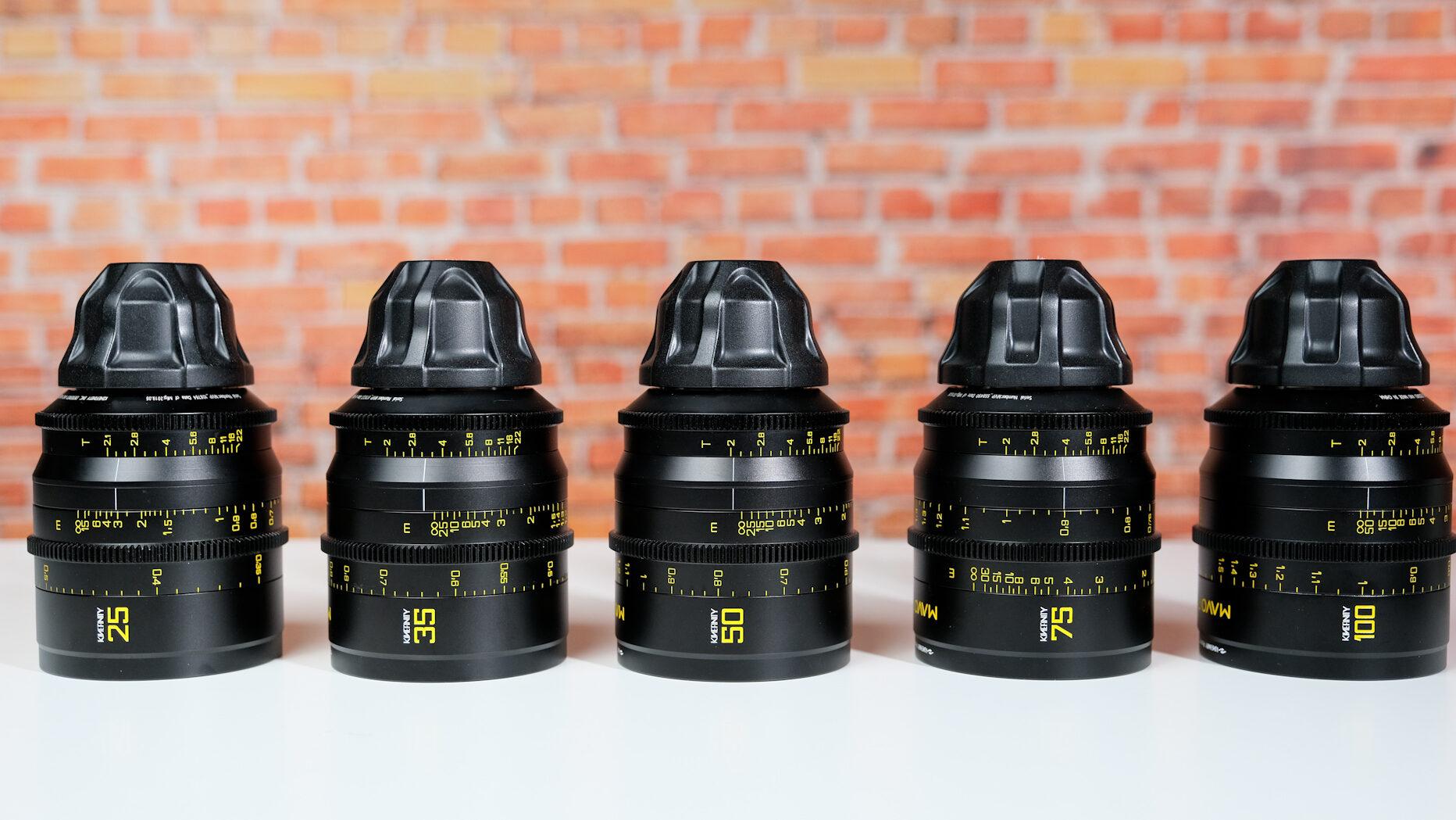 MAVO Full Frame Prime Lenses
