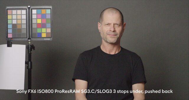 3 stops below base exposure, ProRes RAW