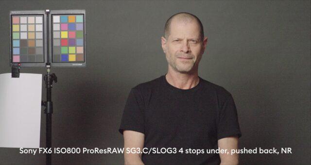 4 stops below base exposure, ProRes RAW