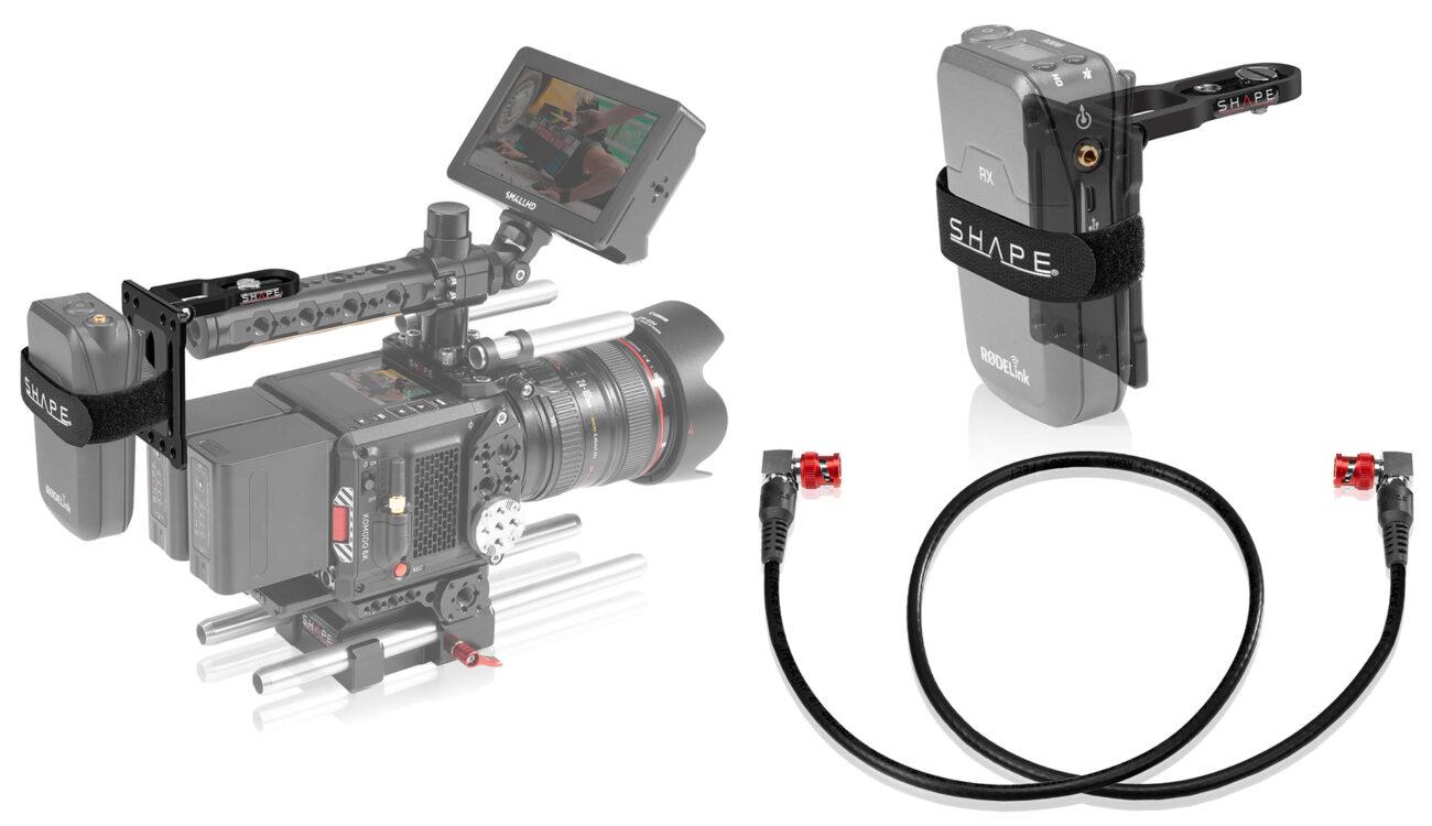 SHAPEがピボット取り付けプレートと4K-12GSDIケーブルを発売