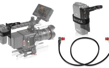 SHAPE lanza placa de montaje pivotante y cable SDI 4K-12G