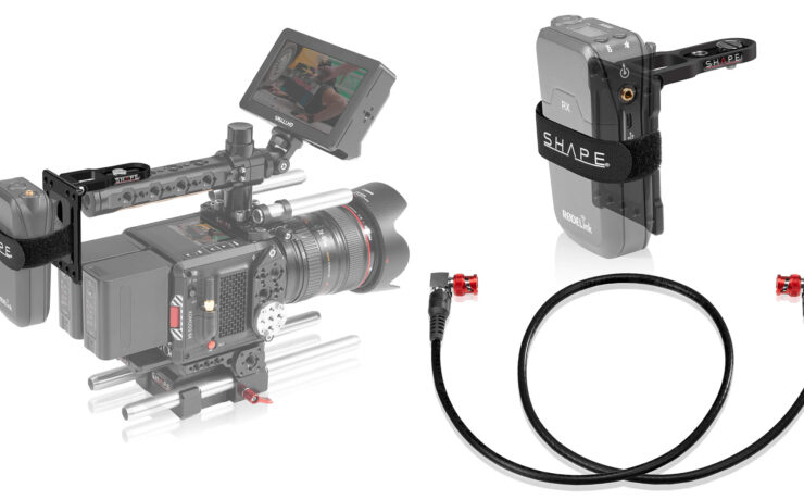 SHAPE Pivoting Mounting Plate and 4K-12G SDI Cable Released