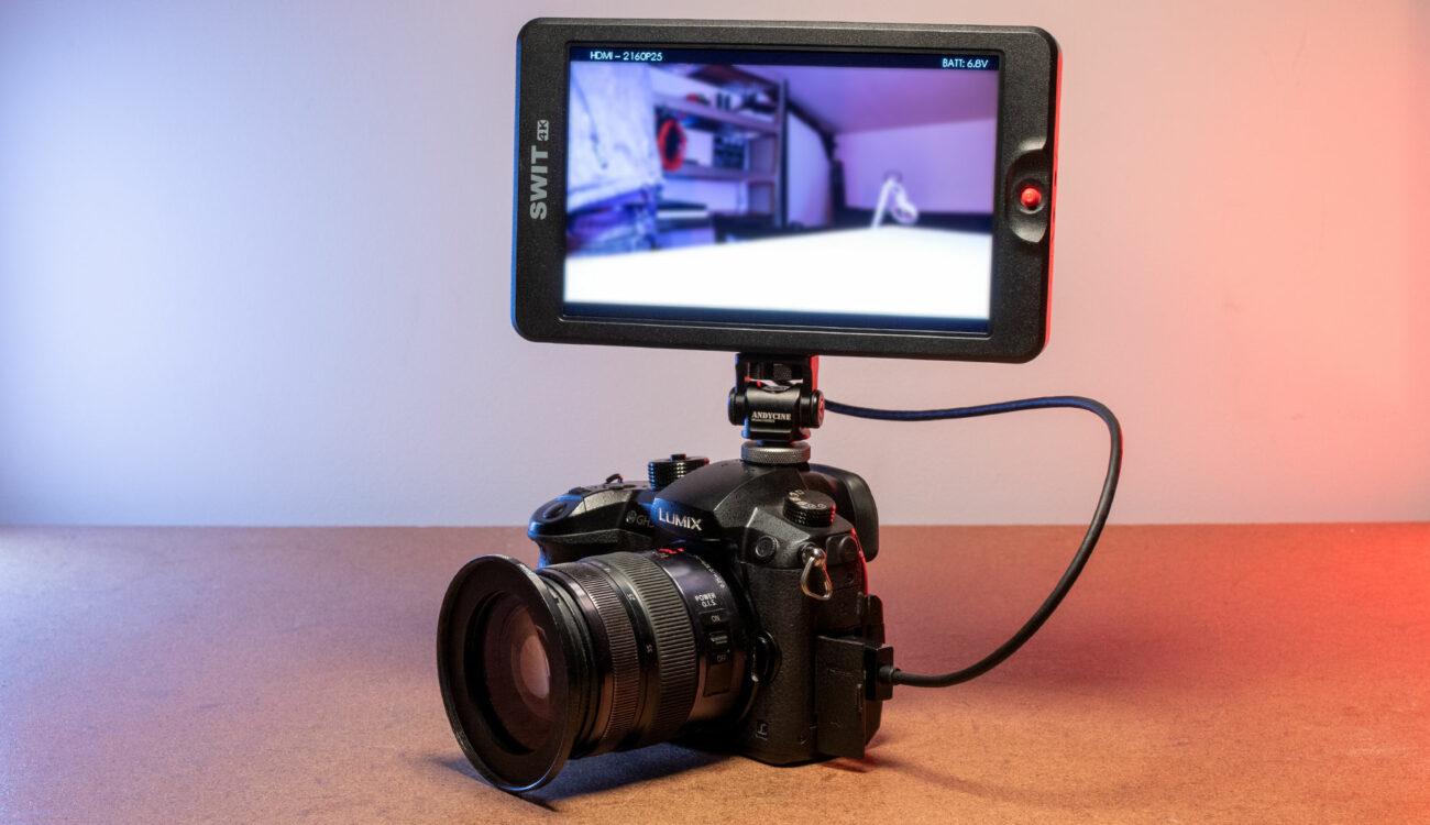 Reseña del monitor de cámara SWIT CM-S75F