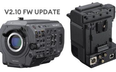 ソニーがFX9 V2.10ファームウェアをリリース