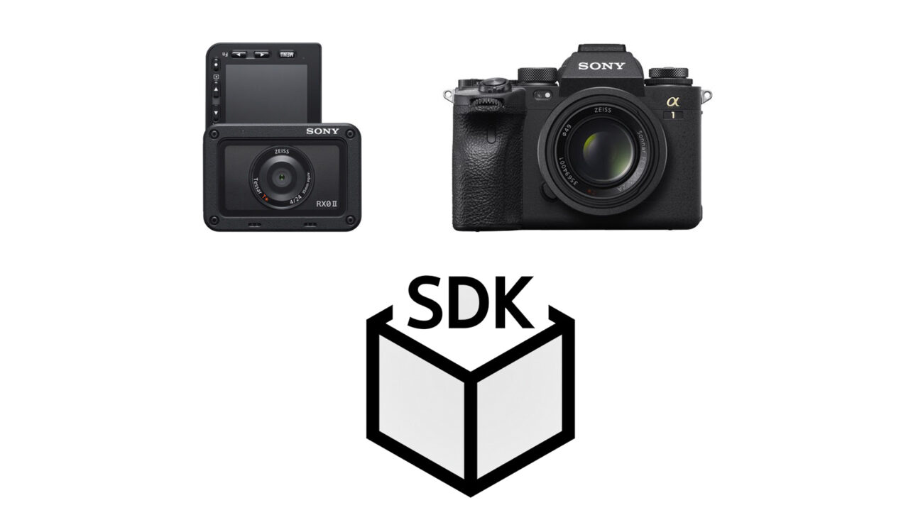 Sony Camera Remote SDK Version 1.04 Released - Alpha 1 and RX0 II Support Added