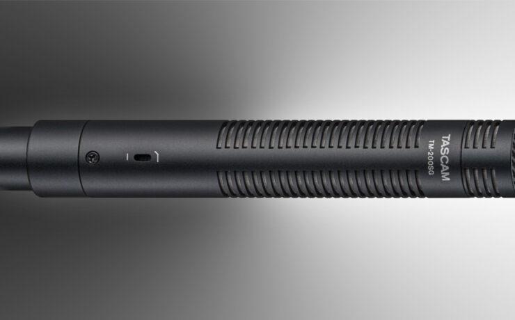 TASCAM TM-200SG Compact Shotgun Microphone Announced