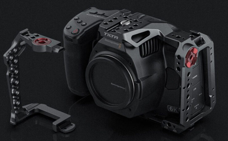 Tilta BMPCC 6K Pro Cage Announced – With Optional EVF Relocator