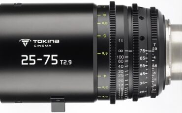 Tokina 25-75mm T2.9 Cine Zoom - First Footage and Available for Pre-order