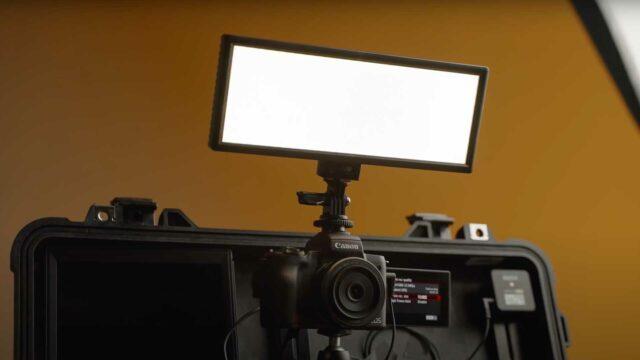 Viltrox on-camera light