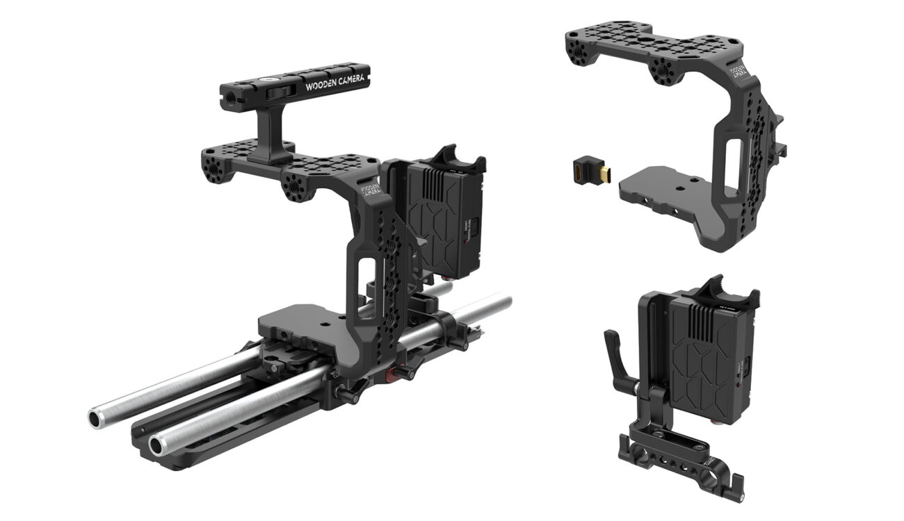 Wooden Camera BMPCC 6K Pro Cage and Unified Accessory Kits