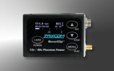 Zaxcom ZMT4 Wireless Audio Transmitter Released