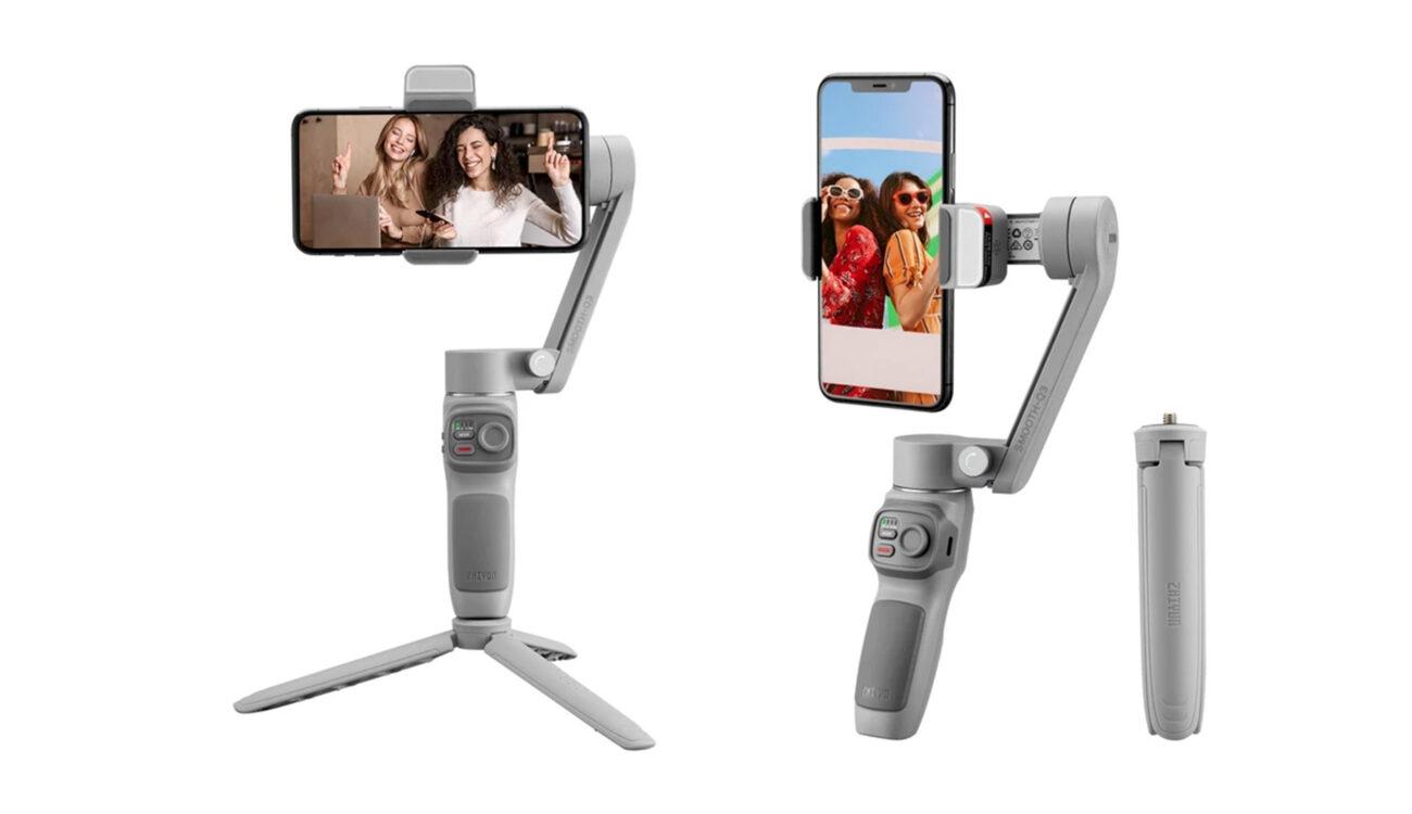Zhiyun SMOOTH-Q3 Smartphone Gimbal Released