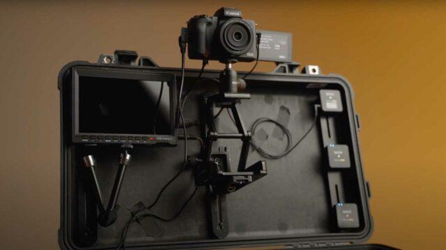 camera and monitor mounting